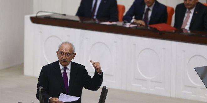 """Kılıçdaroğlu: """"İsrail'in Mescid-i Aksa'ya müdahalesi kabul edilemez!"""""""