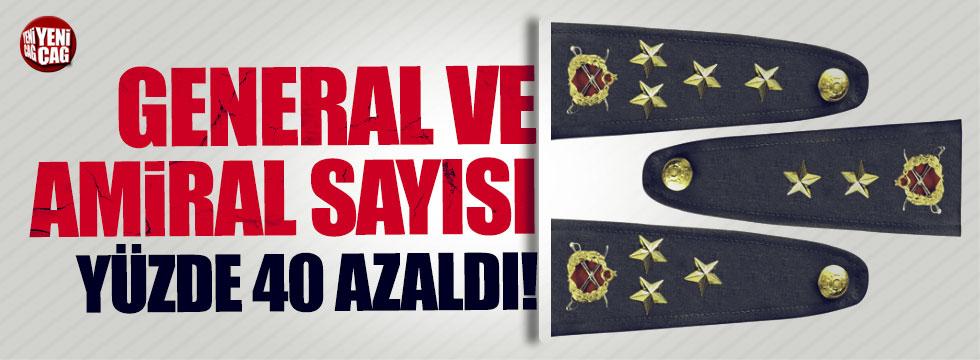TSK'da general ve amiral sayısı yüzde 40 azaldı