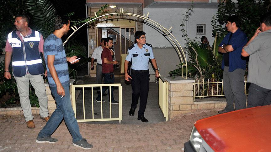 Antalya'da bir evde patlama