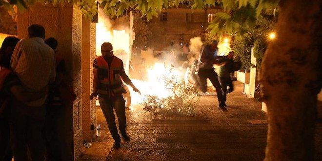 İsrail polis 13 kişiyi yaraladı