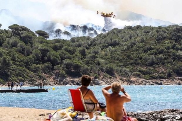 Yangın durdurulamadı: 10 bin kişiye tahliye