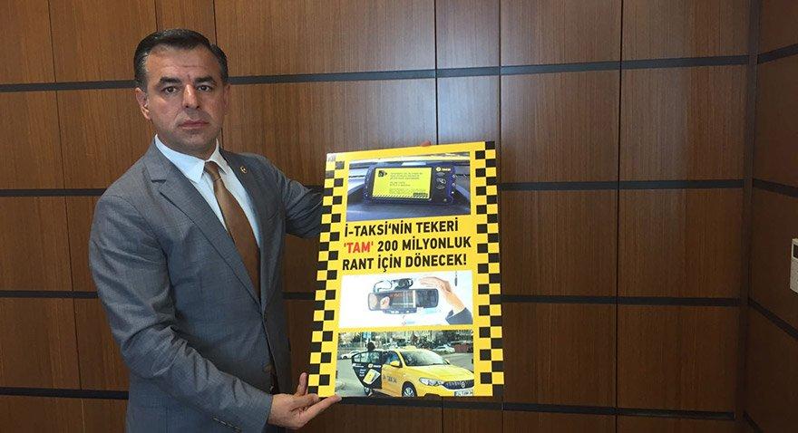 CHP'li Yarkadaş'tan iTaksi iddiası