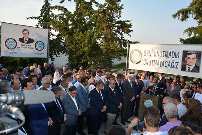 MHP, Dr. Sadık Ahmet için yapılan törene katılmadı