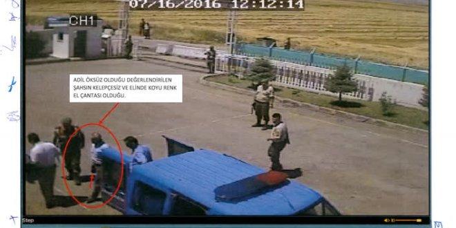 Öksüz'ün jandarma karakoluna girme görüntüleri ortaya çıktı