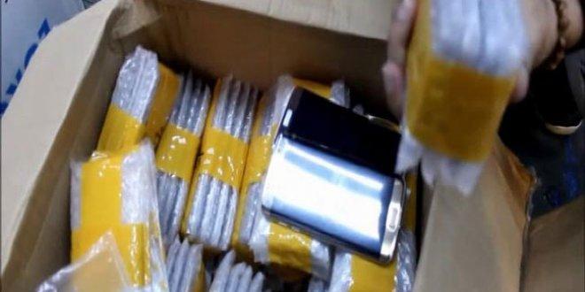 Üretime geçmeyen telefonlar Türkiye'de yakalandı