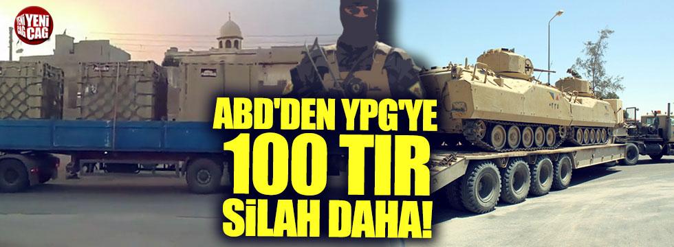 ABD'den YPG'ye  100 tır silah daha