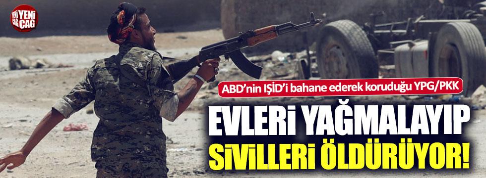 YPG Suriyeli sivilleri yağmaladı