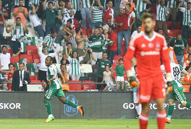 Beşiktaş – Atiker Konyaspor: 1-2 Maç özeti
