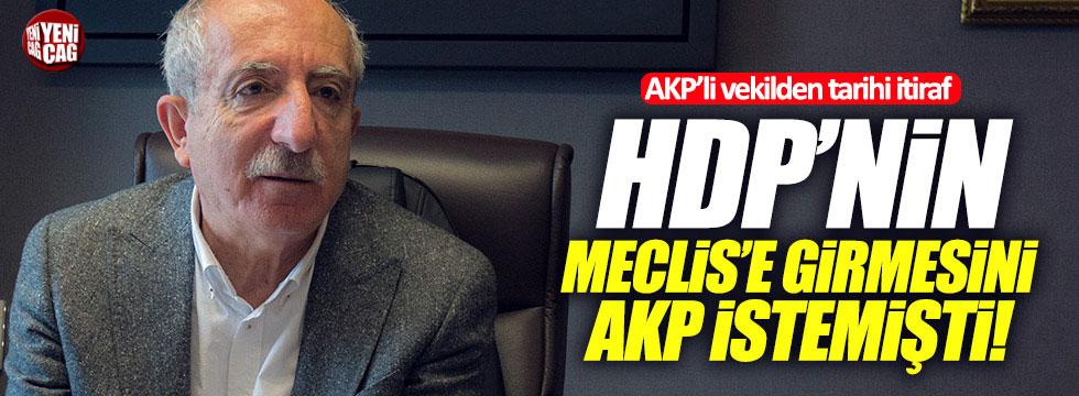 """Miroğlu: """"AK Partililer bile HDP'nin barajı aşıp, Meclis'e gitmesini istiyordu!"""""""