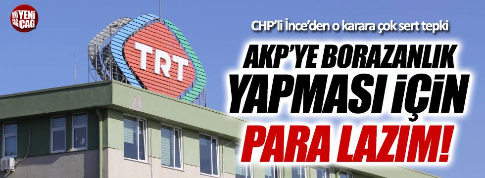 CHP'li Muharrem İnce'den TRT tepkisi