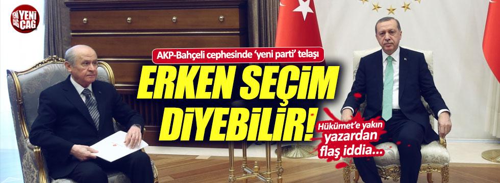 AKP ve Bahçeli'de Akşener telaşı