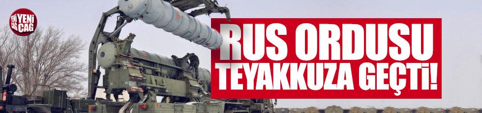 Rus ordusu teyakkuza geçti