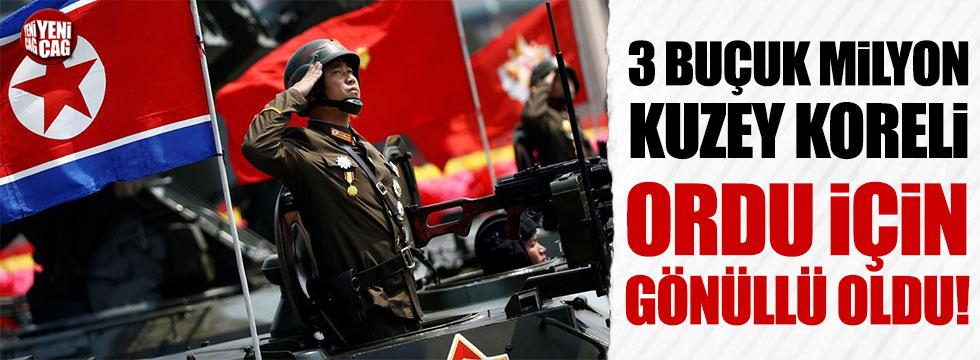 Kuzey Kore'de savaş hazırlığı