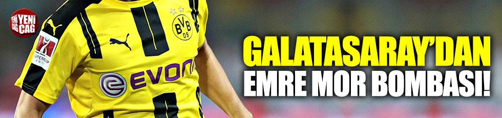 Galatasaray, Fenerbahçe'nin de ilgilendiği Emre Mor için teklif yaptı!