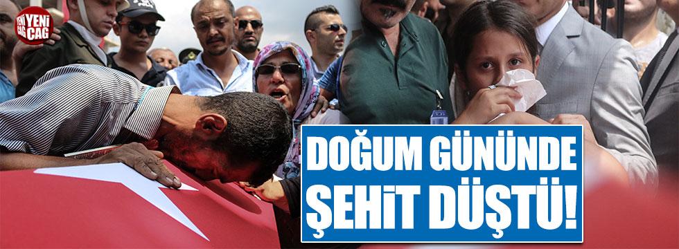 Trabzon şehidi doğum gününde uğurlandı