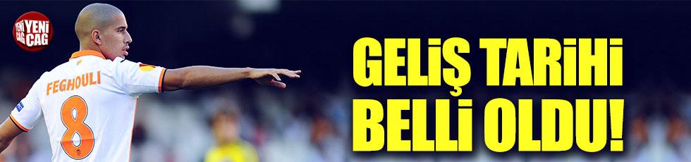 Feghouli yarın İstanbul'a geliyor