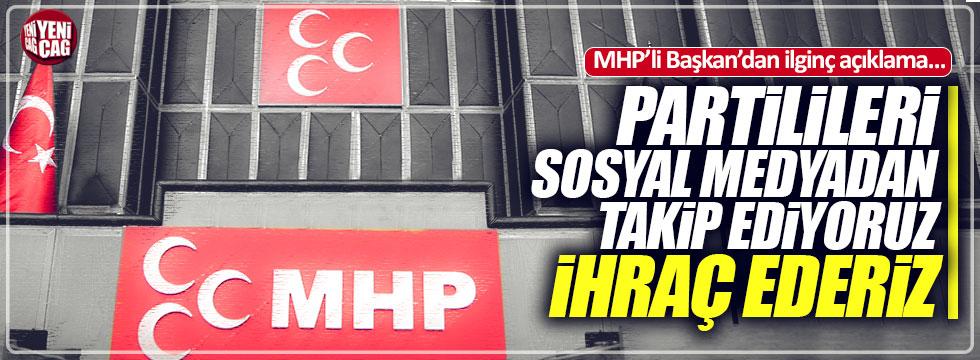 MHP'li Başkan'dan ilginç 'ihraç' açıklaması