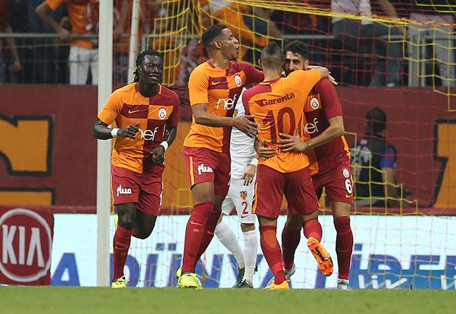 Galatasaray – Kayserispor: 4-1 Maç özeti