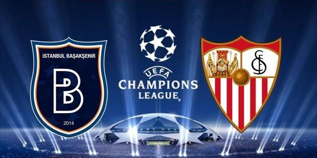 Başakşehir Sevilla maçı saat kaçta?