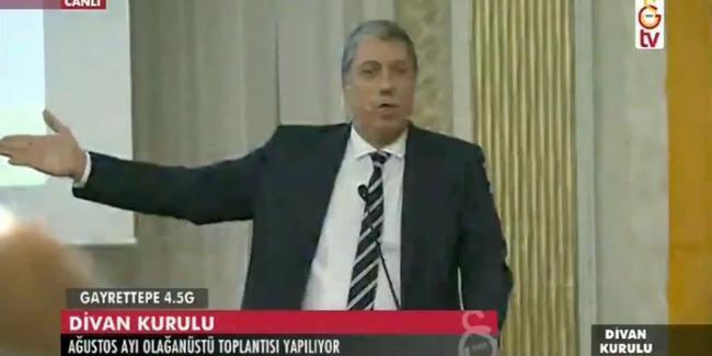 Galatasaray Divan Kurulu'nda tartışma çıktı