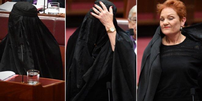 Burkayla meclise gelen vekil dünya gündeminde