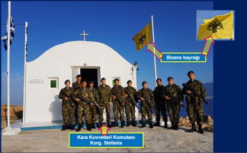 """Yalım: """"Türk topraklarına Bizans bayrağı çektiler"""""""