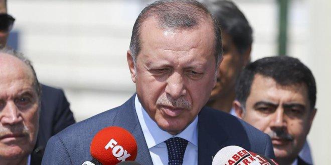 """Erdoğan Almanya'daki Türklere seslendi: """"Oy vermeyin"""""""