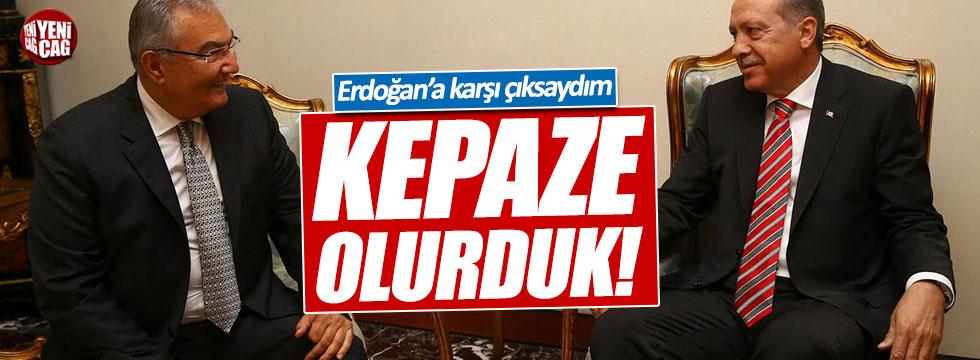 Baykal: Erdoğan'a karşı çıksaydım kepaze olurduk
