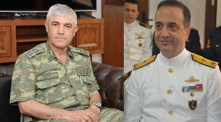 Jandarma Genel Komutanı ve Donanma Komutanı belli oldu