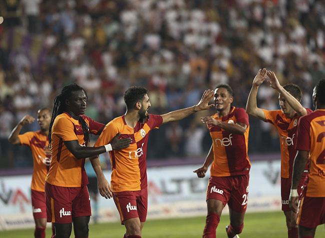 Galatasaray Ankara'da ezdi geçti