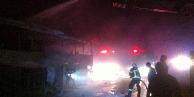 Yangını fark eden otobüs şoförü, 40 yolcuyu ölümden kurtardı