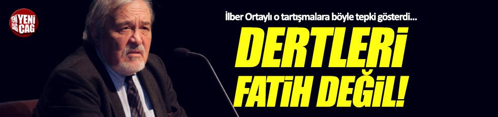"""Ortaylı: """"Dertleri Fatih de değil. Ahmet Hakan'ın popülaritesi"""""""