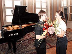 Türk piyanist hayran bıraktı