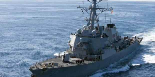 Savaş gemisi ve tanker çarpıştı