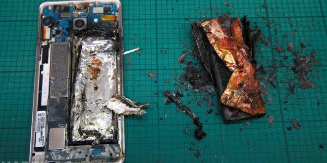 Samsung Galaxy Note'ta yeni tehlike