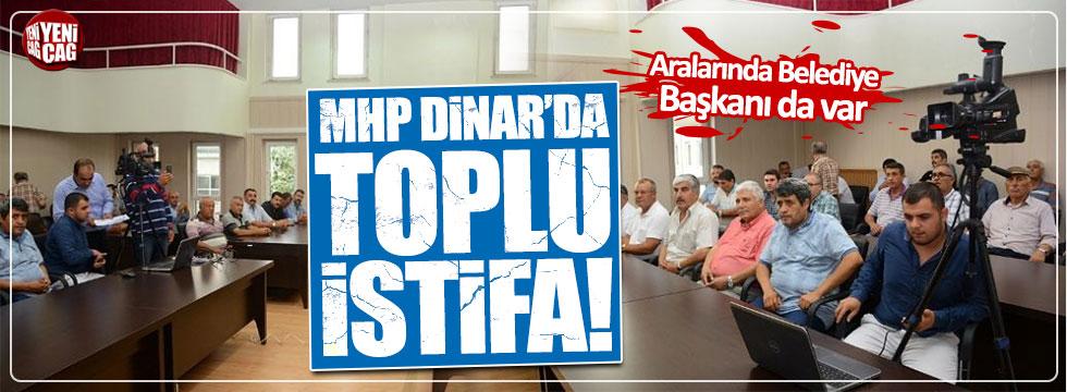 MHP Dinar'da yeni parti istifası