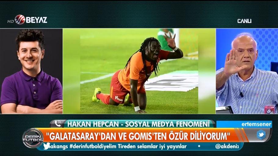 """Ahmet Çakar'dan Hakan Hepcan'a:""""Irkçı, vatan haini, şerefsiz..."""""""