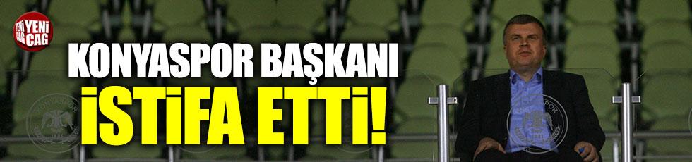 Konyaspor Kulübü Başkanı Ahmet Şan istifa etti!