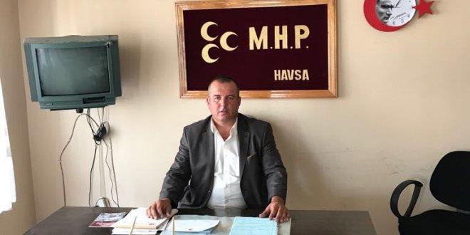 Görevdeki Başkan MHP'den istifa etti