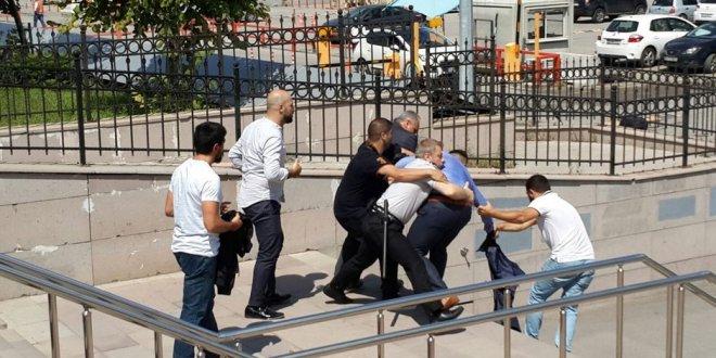 Adalet Sarayı'nda silahlı saldırı
