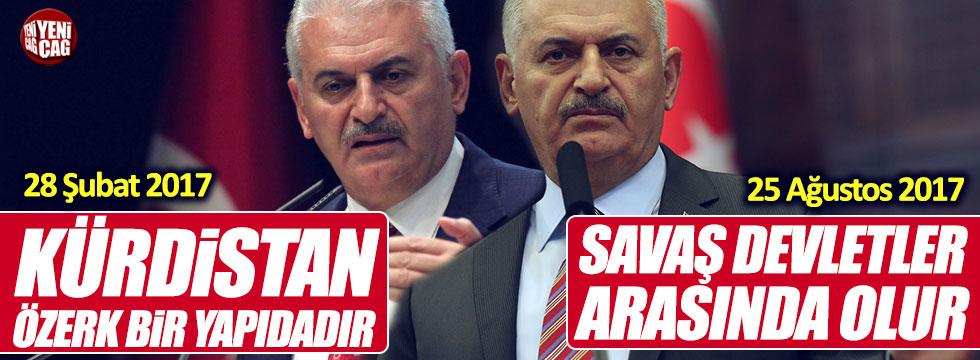 Binali Yıldırım 'Kürdistan' sözlerini unuttu