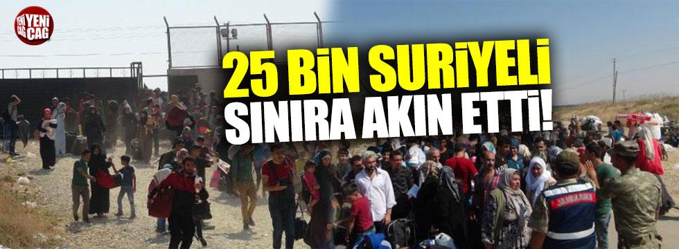 25 bin Suriyeli bayram için ülkesine döndü