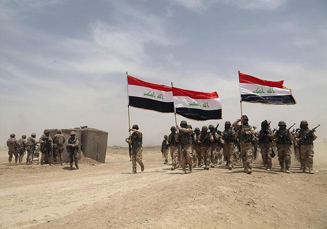 Irak ordusu Sincar'a girdi