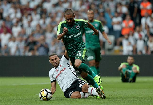 Beşiktaş - Bursaspor : 2-1 Maç özeti