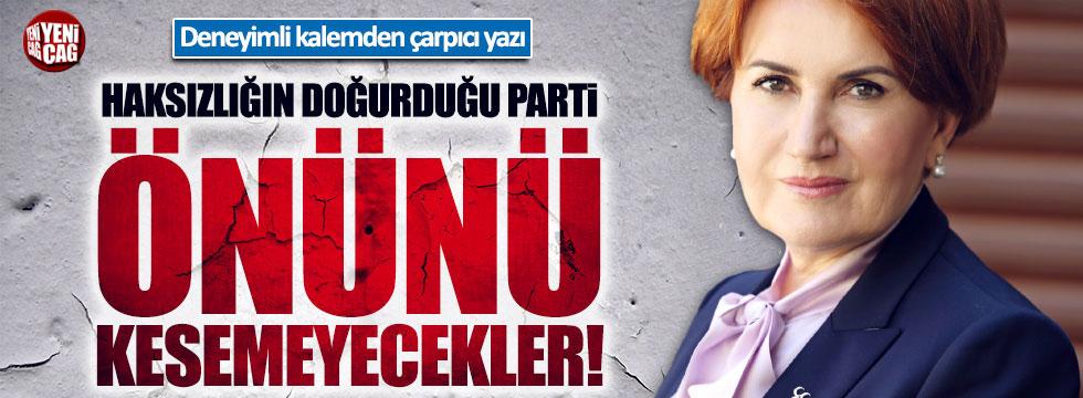 Rahmi Turan: 'Yeni Parti'nin önünü kesemeyecekler