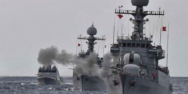 Güney Kore'den savaş gemili önlem