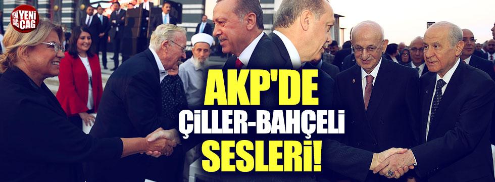 AKP'de Çiller-Bahçeli sesleri