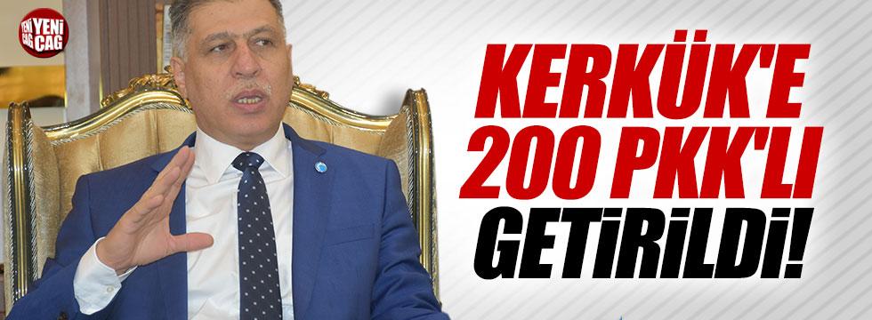 """Salihi: """"Valinin izniyle Kerkük'e 200 PKK'lı getirildi"""""""