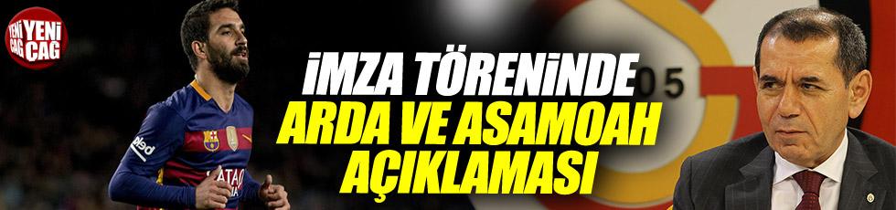 Dursun Özbek'ten imza töreninde transfer açıklaması