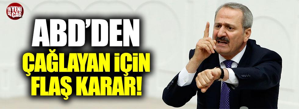 ABD'den Zafer Çağlayan için tutuklama kararı!